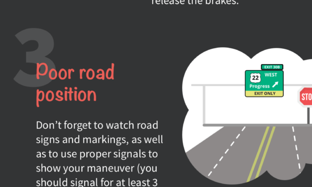 Driving Test Tips: 5 Common Mistakes When You Start Driving
