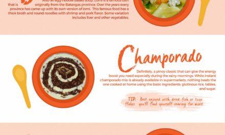 10 Filipino Comfort Foods for the Rainy Season