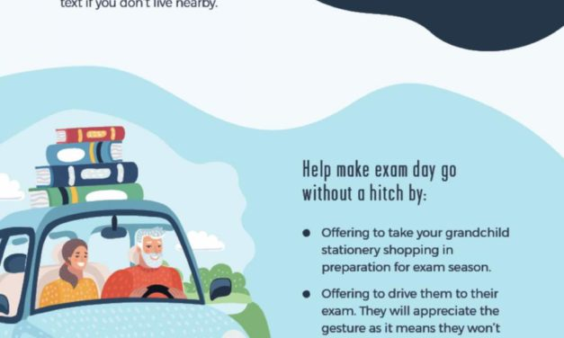How to help your grandchildren through exam season