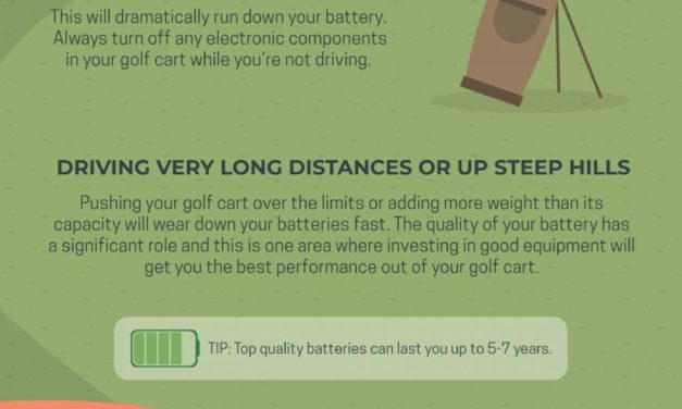 Prolonging Your Golf Cart's Battery Life