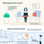 prevent back pain while working from home