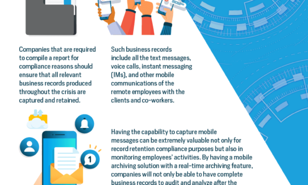 Corona Response And Mobile Archiving Best Practices for Working from Home