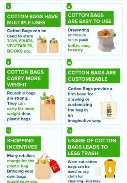 Reasons To Switch To Organic Cotton Reusable Bags