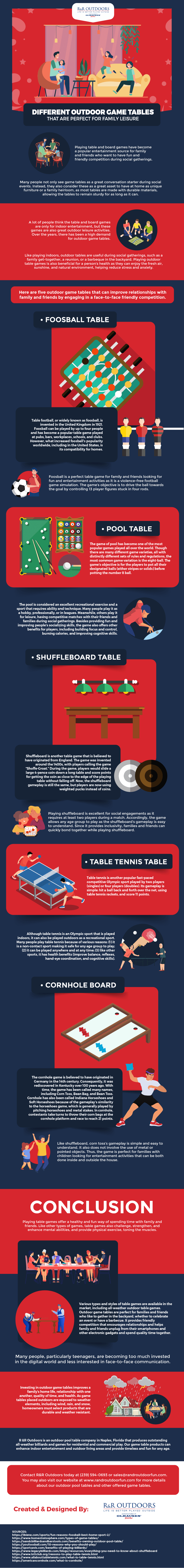 Different-Outdoor-Game-Tables