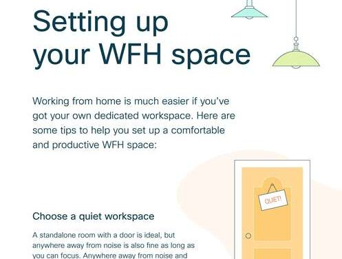 How to Set Up Your WFH Space