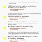 List of Latino Scholarships